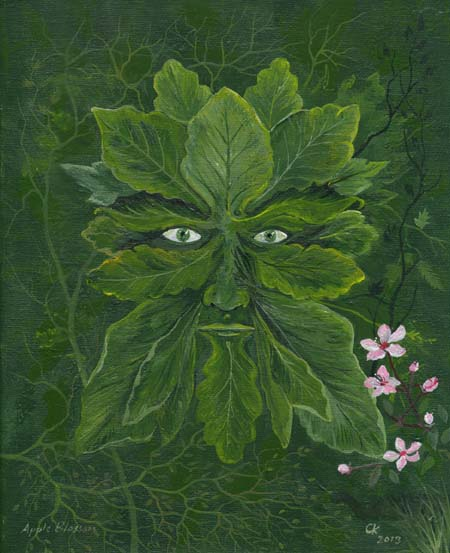 Greenman Apple Blossom